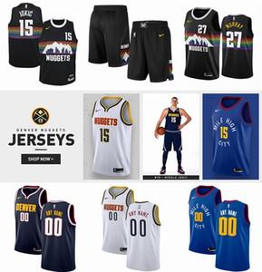 2020 Mens Customize Swingman Basketball Jersey 15 Jokic 27 Murray 5 Barton 4 Millsap 9 Grant 14 Harris 7 Plumlee 10 Bol 11 Morris 31 Cancar