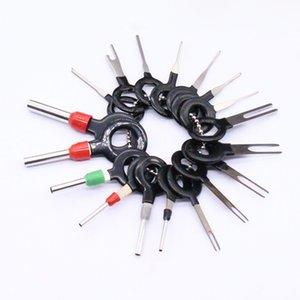 18 Pcs voiture Faisceau de câbles Plug-Terminal Extraction Choisissez des broches du connecteur Supprimer Tool Set Accessoires Car Styling