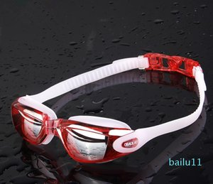 luxury -Fashion Men Swim Goggles Anti-fog Swim Glasses Adult HD Women Swimming Goggles Professional Electroplate Waterproof Swim Glasses