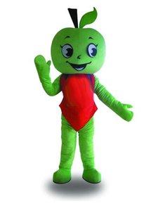 Halloween Grünes Apple Maskottchen Kostüm Hohe Qualität Cartoon Apple Boy Anime Thema Charakter Weihnachten Karneval Party Kostüme