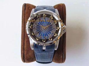 3 Stile Topselling migliore qualità Top fabbrica 45 millimetri Excalibur RDDBEX0398 904 acciaio Sapphire svizzero CAL.9015 Movimento automatico Mens Watch Watche