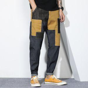WW0229 Fashion Jeans Hommes 2020 Runway European Design parti de style Vêtements pour hommes