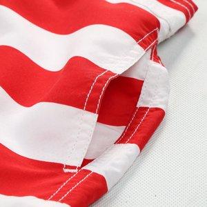 7-14yrs Boys Girls Board Shorts 2019 Hawaii Beach Shorts Surf American Flag Short Custom Swim Trunks Pentagram Kids Sport Wear