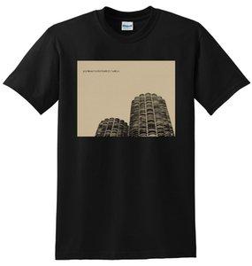 Wilco T Gömlek Yankee Otel Foxtrot Vinil Toptan Indirim Kapak Erkekler Pamuk T-shirt Baskılı Tişört En Tee Homme Yüksek kalite