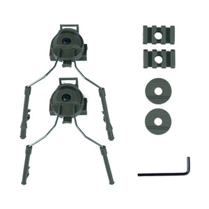 Taktik Kask Peltor Adaptör Seti Kulaklık Tutucu Hızlı Ops Çekirdek Kask Raylı Adaptör Ray Montaj Kiti Paintball 4 renk