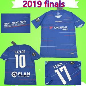 Chelsea vs Arsenal 2019 HAZARD Maglia da calcio KANTE HIGUAIN T-Shirt GIROUD Maglia da calcio Pedro home blu JORGINHO 2019 2020 WILLIAN JORGINHO Maillot soccer jersey shirt