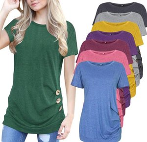 New brand Cotton Wonen's T-shirt Women Designer Spring Summer Color Sleeve Short Sleeve Tees Casual T-shiirt