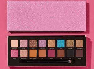 Kostenloser Versand ePacket Neue Make-up Augen heiße Marken Amrezy Lidschatten-Palette 16 Farben schimmern matt-Augen-Schatten!