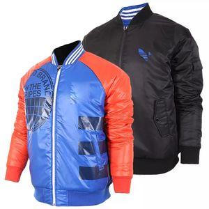 Tasarımcı Erkekler Geri Dönüşümlü Ceket Marka Mens ve Womens Sonbahar Kış Uzun Kollu Ceketler Erkek Giyim 2 Renk Boyutu S-2XL