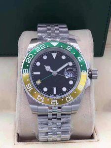 Viele Männer Uhren GM / T 40mm 126719 116710 116713 126710 Edelstahlarmband automatische mechanische Luxusuhren-Mode Uhr