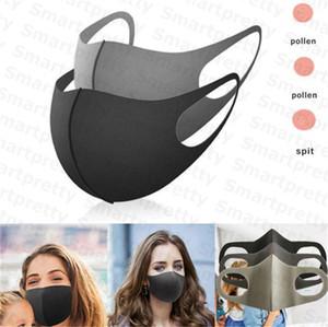 Yıkanabilir çocuk yetişkin yüz maskesi kullanımlık maskeleri kadın erkek çocuk Portective 3D olmayan tek kullanımlık Sünger maskeleri PM2. 5 Pus ağız kapak E31606