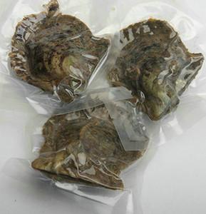 Pérolas duplas Dentro do partido extravagante Presente 30 Cores 6-7 MM QUALIDADE Twin Pérolas em Ostras de água salgada Akoya Ostras Love Wish Pearl presentes