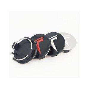 테슬라 모델 X S 3 차 스타일링 XWC1385-01 20PCS 외경 57mm 휠 센터 캡 커버 엠블럼 로고 배지 자동차 액세서리