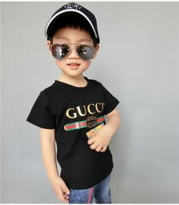 2019 Nueva marca de diseñador 1-9 años de edad, bebés, niñas, camisetas, camisetas de verano, tops, camisetas para niños, camisetas para niños, ropa t77
