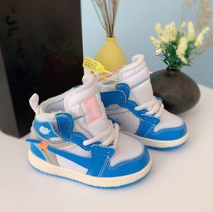 2020 New Designer Kids 1s Space Jam Bred Concord Gym Rot Off Basketballschuhe Kinder Jungen Mädchen Jugend Sneakers Kleinkinder