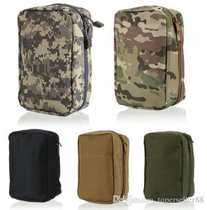 Alta qualità Airsoft Molle First Aid Kit Tactical Medical Pouch Nylon Borsa Materiale