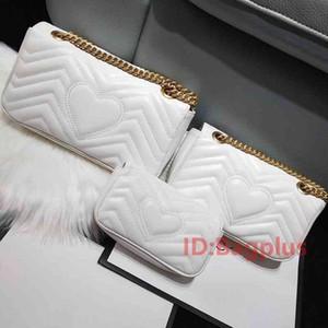 3 Taille haute qualité Femmes Marque Mode Marmont Sacs de créateurs de luxe en cuir véritable sac à main Sacs à main Sac à dos Sacs à bandoulière