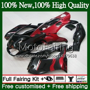 Thunderace Per YAMAHA YZF1000R 96 02 03 04 05 06 07 87MF17 Fiamme rosse YZF-1000R YZF 1000R 2002 2003 2004 2005 2006 2007 Carenatura Carrozzeria