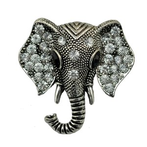 Metal The Elephant Brooch Animal Series Europe And The United States Popular Jewelry Factory Direct Wholesale