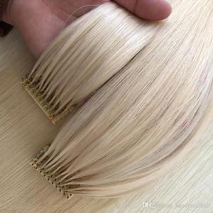 estensione 300Strands Pre-bonded europeo 6d capelli vendita calda 150g 16 18 20 22 24inch estensioni dei capelli umani europei brasiliane,