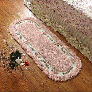 Rosa morbido peluche Shaggy Tappeti e Tappeti per Living Room Area Rug per: Soggiorno Carpet bambini Bedroom Window Comodino Mat