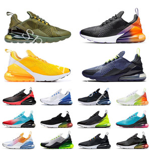Air Max 270 2020 estate gradienti Università oro Rainbow 270 Cushion Mens Sneakers Platinum 270S pattini correnti di sport 27c Donne Trainer Size 36-45