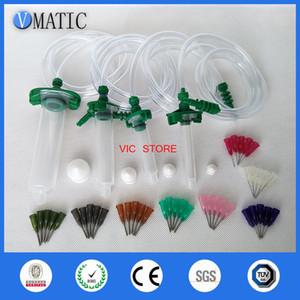 Alibaba Raccomandazione 30CC + 10CC + 5CC + 3CC dell'erogatore liquido Solder Paste colla adesiva siringa + Dispensing punta d'ago freeshiping