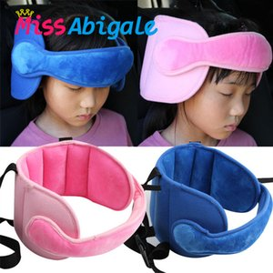 MissAbigale Child Baby Kids Adjustable Head Holder Car Seat Support Sleep Nap Aid Kid Head Protector Belt Handband Dropshipping T200603
