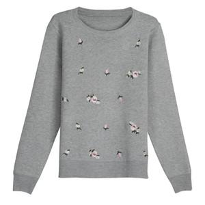 Оптовая продажа-OHCLOTHING 2017 осенний свитер женщины вышивка вязаный зимний женский свитер и пуловер женский трико Джерси джемпер Pull Femme