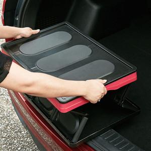 30L largecar Tronco dobrável Car Caixa de armazenamento Organizer caixa de plástico Multifuncional Armazenamento Box Auto Organizer ZZA1881