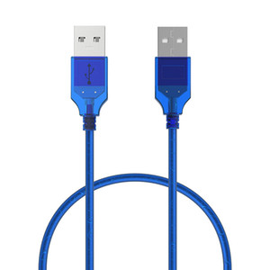 Araç MP3 Kameralar Sabit Disk Cambo için 1M 1.5M 3M Yüksek Hızlı USB 2.0 Veri Kablosu Erkek için Erkek Kadın USB 2.0 Tip A Uzatma Kablosu