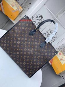 #4957 5A L Brand V Onthego Tote Bags Women Handbag Fashion Classic Clutch Top Handle Evening Bag Genuine Leather Large Capacity Shopping Bag