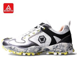 HUMTTO Hommes Chaussures de marche Couple Sneakers Baskets Mode Femme Loisirs Sports Chaussures Respirant antidérapante