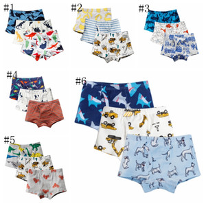 Baby Boys Panties 100% Cotton Kids Short Pants Printed Kids Shorts Boxers Cartoon Children Underwear Summer Kids Clothing DSL- YW3069