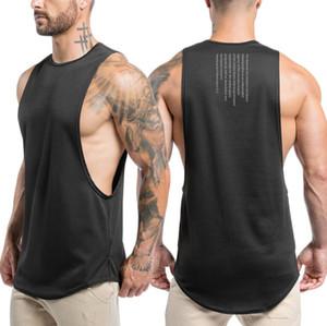 Luxury Mens Tank Top con le lettere intima Sport Bodybuilding marca Palestra Abbigliamento Gilet Abbigliamento Uomo Casual Tops M-XXL