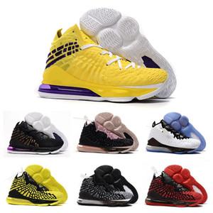 2019 El más nuevo James 17 XVII Equilibrio inicial Hombres Mujeres Zapatos de baloncesto para niños grandes Buena calidad Zapatillas deportivas James 17s Zapatillas deportivas Tamaño 40-46