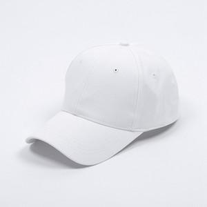 단색 컬러 포니 테일 야구 모자 야외 유니섹스 통기성 썬 샤드 태양 모자 코 튼 캡 조정 가능한 Snapbacks 모자 300pcs LJJP47-2