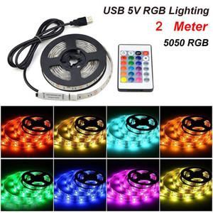 1m / 2m / 3m / 5m / 10m 5050 3528 SMD 300 LED Bandes à lampes de batterie étanche Cuivre Fairy String String Fête Fête Chaud Coly RVB Couleur