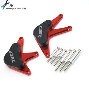 Pour CBR1000RR 2008 2009 2010 2011 Guards moteur Sliders Pads Accessoires CNC en aluminium de moteur de moto Produit Prtoector