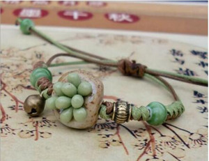 2020 nuovi gioielli etnici a mano a catena semplici gioielli lavorati a maglia a mano a catena in carne lavorata a mano gioielli a mano W611