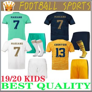 bambini 19 20 Real Madrid HAZARD maillots de football JOVIC MILITAO camiseta de foot 2019 2020 ASENSIO hommes et enfants maillot de football