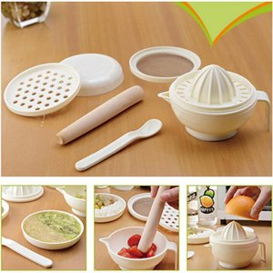 Grinder Juicer Multifunction Baby Food Masher Maker Grinding Rod Plastic Pp Grinding Spoon Juicer Grinding Vegetable wvOzs
