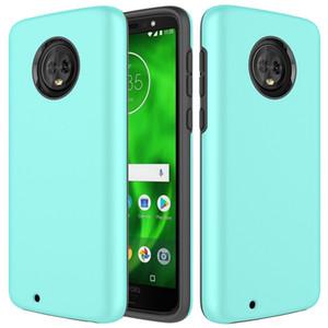 360 Полный защитный двухслойный гибридный чехол для Motorola Moto G7 Power G6 Play E5 Cruise G4 Plus Противоударная твердая задняя крышка