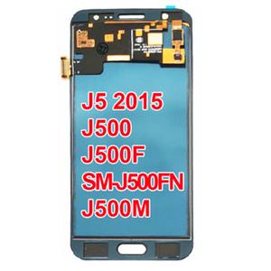 SAMSUNG Galaxy J5 2015 J500 LCD Ekran J500H J500FN J500F J500M SM-J500F Dokunmatik Ekran Digitizer için TFT LCD