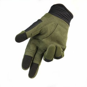 Men's Military Tactical Hunting Full Finger Gloves Touch Screen Outdoor Sport Gloves For Airsoft Cycling Hiking 3 Colors