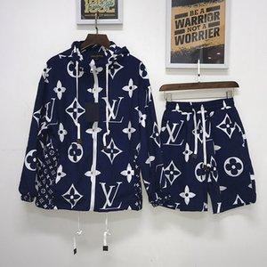 의류 트랙 키트 메두사 스포츠를 인쇄 운동복 남성 스포츠 정장 편지를 실행 남성 디자이너 운동복 재킷 세트 패션