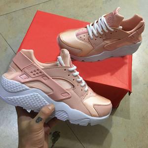 Nuove scarpe da donna outdoor Classic Air Huarache Scarpe da esterno nude color rosa Kylie Boon per le donne Scarpe rosa chiaro Taglia 36-40