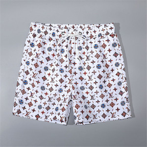 Hipster Print Swimwear 2020 Series Hipster Men's Trunks Outdoor Beach Swimming with Pocket Breathable Swimwear Free Shipping Hot