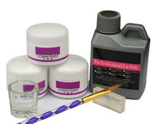 Venda A Quente 7 Pcs / Conjunto Acrílico De Unha Acrílica Polímero Acrílico De Unhas Acrílico Para Unhas Fixado Para Manicura