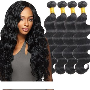 8A Mink Brazilian Virgin Hair Bundles Body Wave 5 Pcs lot Brazilian Unprocessed Human Hair Peruvian Malaysian Indian Body Wave Bundles Weave